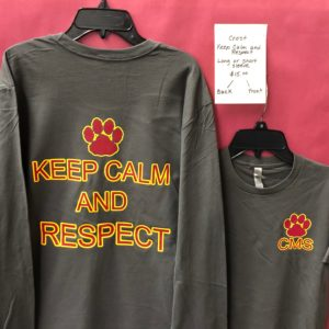 Keep Calm and Respect (Long & Short sleeve)